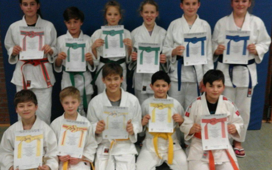 Neue Gürtelfarben für Nachwuchs-Judoka