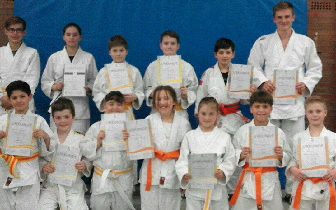 TuS-Judoka meistern die nächste Hürde